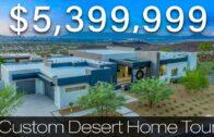 Visit the $5,399,999 custom desert home in Henderson's most unique