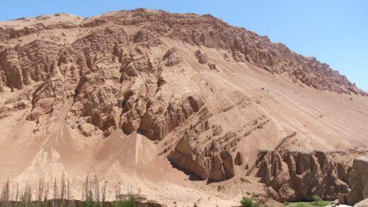Xinjiang desert landscape